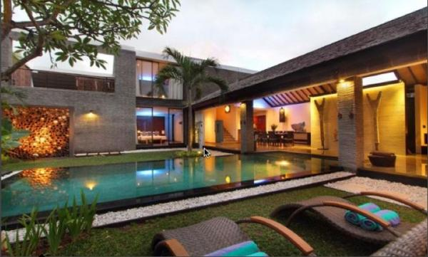 Villa anjali blue - pool view