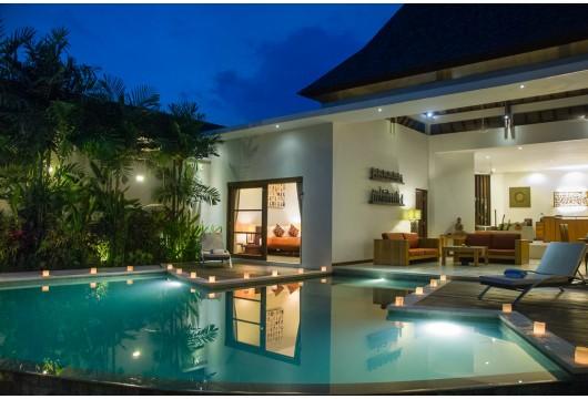 Villa Bisma - pool area