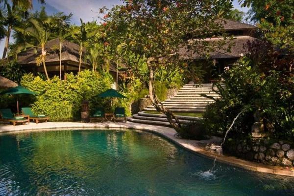 View of Pool & Garden
