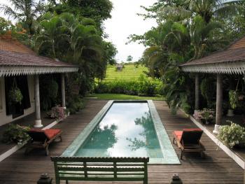 Pool & Rice Fields